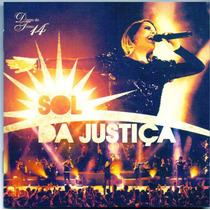 Cd Diante Do Trono -14 / Sol Da Justiça - Novo***