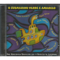 Cd Submarino Verde E Amarelo - 2000 - Homenagem Aos Beatles