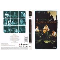 Legião Urbana Acustivo Mtv Dvd + Cd Lacrado Original