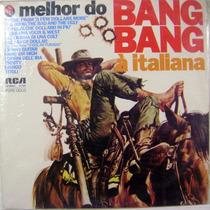 Vinil/lp - O Melhor Do Bang Bang - À Italiana