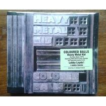 Cd - Coloured Balls - Heavy Metal Kid - Bonus Digipa Lacrado