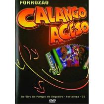 Dvd Calango Aceso Forrozao Ao Vivo Fortaleza