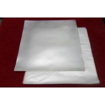 Plásticos P/ Lp Vinil Discos - 100 Ext 0,15 + 100 Internos