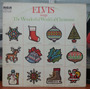 Elvis - Elvis Sings The Wonderful World Of Christmas - (lp)