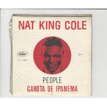 Nat King Cole 1965 People/ Garota De Ipanema- Compacto Ep 14