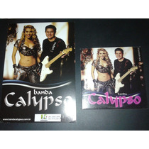 Banda Calypso Kit Volume 16 Meu Encanto Cd + Card