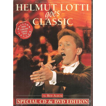 Cd + Dvd - Helmut Lotti - Red Album - Novo, Lacrado