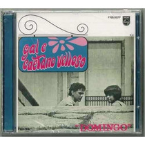 Cd Gal Costa Caetano Veloso Domingo 1967 Remasterizado