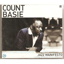Cd Count Basie - Jazz Manifesto ( Duplo Import Uk Lacrado )