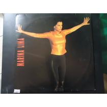 Disco Vinil Lp Marina Lima ##