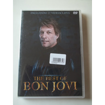 Bon Jovi The Best Of 17 Video Clipes Dvd Raro Novo Lacrado !