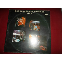Barclay James Harvest Live 74 Inglaterra Lp Duplo