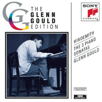 Cd Paul Hindemith - Glenn Gould - The 3 Piano Sonatas