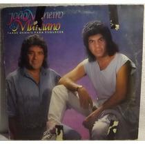 Lp / Vinil Sertanejo: João Mineiro & Marciano - Tarde.. 1990