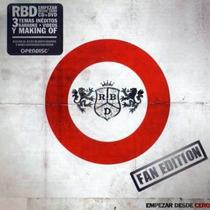 Rbd -empezar Desde Cero (fan Edition) Cd+dvd Lacrado Maite P