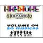 Dvdokê_videokê Gradiente - Sertanejo Volume 04
