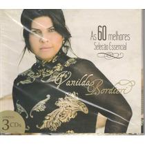 Cd Vanilda Bordieri As 60 Melhores Seleção Essencial 3 Cd`s