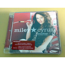 Cd+dvd Miley Cyrus Breakout Platinum Edition Importado
