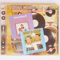 Cd Sertanejo Zilo E Zalo Música Seresteiro Violão Amigo