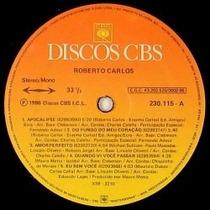 Lp Roberto Carlos - 1986 - Apocalipse