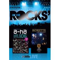 Dvd A-ha & Roxette - On The Rocks - Vol.6 Duplo Novo