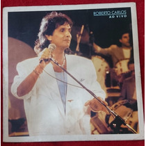 Lp Roberto Carlos Ao Vivo 1988 - Imagine- Raro- Frete Grátis