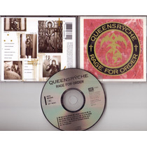 Queensryche - Rage For Order Importado