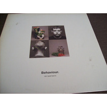 Raridade - Lp Vinil - Pet Shop Boys - Behaviour