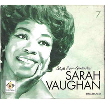 Cd - Sarah Vaughan - Folha S.paulo