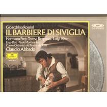 Videolaser Il Barbiere Di Siviglia - Rossini - 2 Ld, 3 Lados