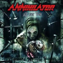 Annihilator All For You (novo Lacrado Import Eu)