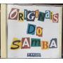 Cd Originais Do Samba - É De Lei