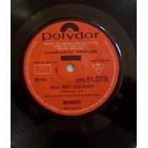 Compacto Mutantes Ando Meio Desligado 1969 Mono Polydor