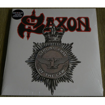 Saxon Strong Arm Of The Law 2 Lp Denin Innocence Wheels Into