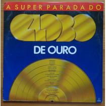 Globo De Ouro Super Parada Lp Nac Usado Vários Artistas 1988