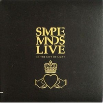 Cd-duplo-simple Minds Live-in The City Of Light-importado