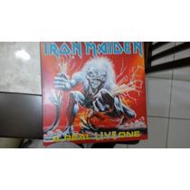 Lp- Iron Maiden- A Real Live One- Capa Dupla- Raro