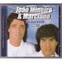 Cd João Mineiro & Marciano Vol.2 Só Sucessos Novo/lacrado