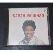 Cd Sarah Vaughan - Raridade - Excelente Estado