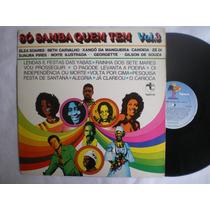 Lp - So Samba Quem Tem - Vol. 3 / Tapecar Ss-030