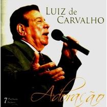 Cd Luiz De Carvalho - Adoração / Bônus Playback.