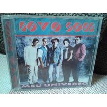 Cd Banda Novo Som - Meu Universo 1996 Ao Vivo Metropolitan