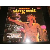 Lp James Last - Sing Mit 5, Disco Vinil C/ Encarte, Ano 1976