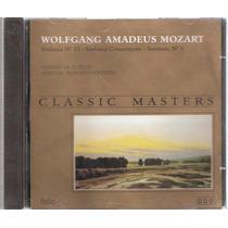 Cd Mozart Sinfonia Nº 13 Serenata Nº 6 - Classic Masters