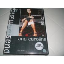 Dvd + Cd Ana Carolina - Estampado (frete Grátis)novo/lacrado