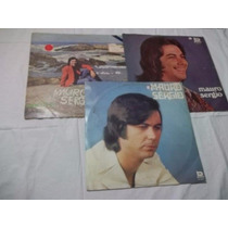 * Lote Vinil Lp - Mauro Sergio - Com 3 Discos