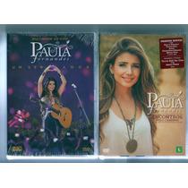 2 Dvds- Paula Fernandes -um Ser Amor +encontros Pelo Caminho
