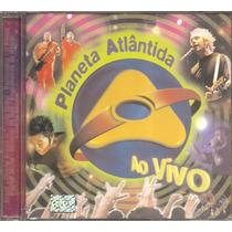 Raro Planeta Atlantida Ao Vivo Original Aceito Trocas