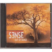 Cd Sense - Out Of Range ( Imp. Canadá ) 2004