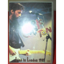 Dvd Eric Clapton Live In London 1985 - Novo Lacrado Original